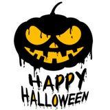 Happy Halloween with Jack o lantern pumpkin Stock Photos
