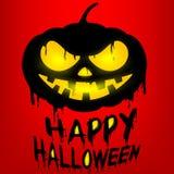 Happy Halloween with Jack o lantern pumpkin Stock Photography
