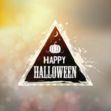 Happy Halloween Label Stock Images
