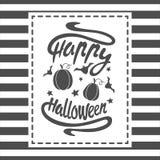 Happy Halloween message Stock Photo