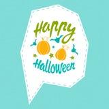 Happy Halloween message Royalty Free Stock Photo
