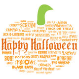 Happy halloween and other scary words