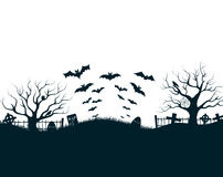 Happy Halloween Party Background. tree in the Stock Photos