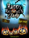 Happy Halloween party. EPS 10 Royalty Free Stock Photography