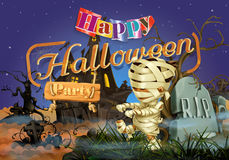 Happy Halloween party Stock Photography