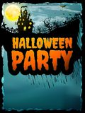 Happy Halloween party Poster. EPS 10 Stock Photos