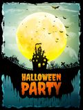 Happy Halloween party Poster. EPS 10 Royalty Free Stock Image