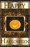 Happy Halloween Poster Royalty Free Stock Photos