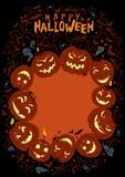 Happy Halloween Poster Stock Image