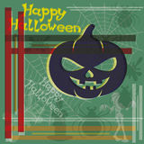 Happy Halloween poster. Stock Photo