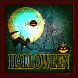 Happy Halloween. Poster.Abstract background Royalty Free Stock Image