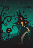 Happy Halloween Poster Royalty Free Stock Photo