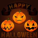 Happy Halloween Poster Royalty Free Stock Images