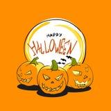 Happy Halloween Poster Royalty Free Stock Photo