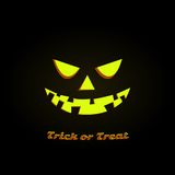 Happy Halloween Poster. Vector illustration Royalty Free Stock Photography