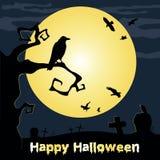Happy Halloween Poster. Vector illustration. Royalty Free Stock Photo