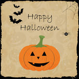 Happy Halloween Poster. Stock Images