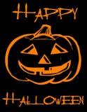 Happy Halloween! Pumpkin! Royalty Free Stock Photography