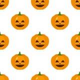 Happy Halloween Pumpkin Icon Seamless Royalty Free Stock Photo