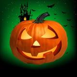 Happy Halloween Pumpkin, Jack O Lantern. EPS 8 royalty free illustration