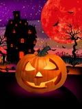 Happy Halloween Pumpkin, Jack O Lantern. EPS 8 stock illustration