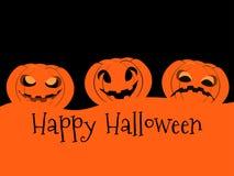 Happy Halloween pumpkin. Jack o lantern icon. Vector. Illustration Royalty Free Stock Images