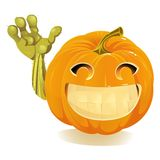 Happy Halloween Pumpkin, Jack O Lantern Royalty Free Stock Photos