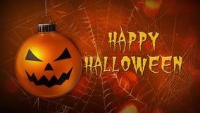 Bat Filled Haunted Graveyard Happy Halloween Stock Video - Video ...