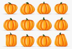 Free Happy Halloween Pumpkin Realistic Decoration Element Isolated On Royalty Free Stock Photos - 127983228