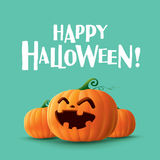 Happy Halloween!. Happy Halloween. Halloween pumpkins lantern Stock Photos