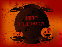 Happy Halloween ribbon Royalty Free Stock Photography