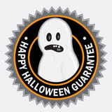 Happy Halloween Seal Royalty Free Stock Photography