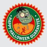 Happy Halloween Seal Royalty Free Stock Image