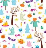 Happy Halloween seamless pattern Royalty Free Stock Image