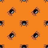 Happy Halloween seamless pattern. Royalty Free Stock Image
