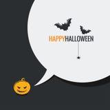 Happy halloween social media design background Stock Images