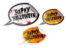 Happy Halloween stickers Royalty Free Stock Photo