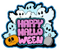 Happy Halloween theme 3 Royalty Free Stock Photography