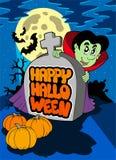 Happy Halloween theme 5. Illustration Royalty Free Stock Photography