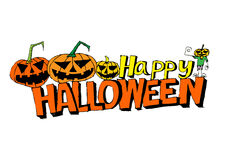 Happy Halloween theme and halloween background Stock Image