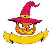 Happy Halloween theme and halloween background Royalty Free Stock Photos