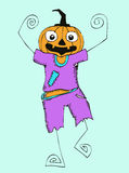 Happy Halloween theme and halloween background Royalty Free Stock Image