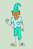 Happy Halloween theme and halloween background Stock Images