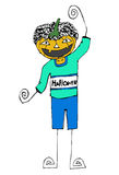 Happy Halloween theme and halloween background Stock Photos