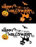 Happy Halloween theme isolated Royalty Free Stock Photography