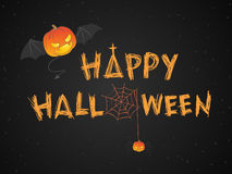Happy Halloween theme vector illustration Royalty Free Stock Photos