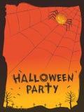 Happy Halloween theme vector illustration Stock Image