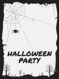 Happy Halloween theme vector illustration Stock Photos