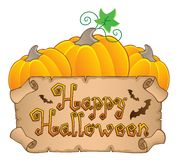 Happy Halloween topic image  Stock Photos