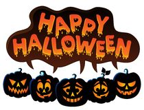 Happy Halloween topic image 7 Stock Image